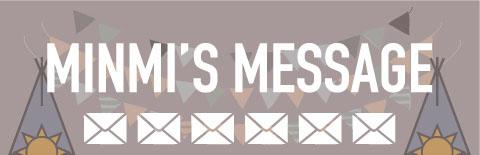 フリーダム開催への想い minmiからのメッセージ
