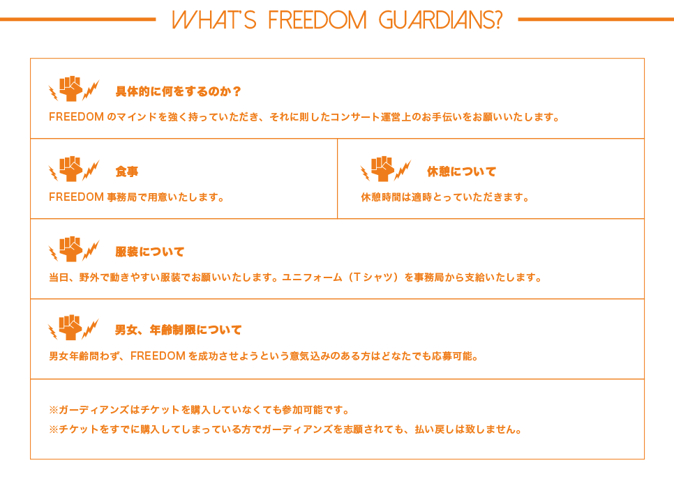 FREEDOM GUARDIANSとは?